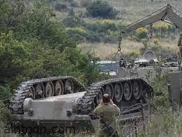 شاهد: انقلاب دبابة مجنزرة - صحيفة هتون الدولية