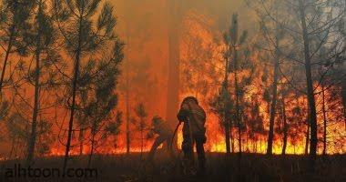 الحرائق تجتاح جزيرة إيطالية - صحيفة هتون الدولية