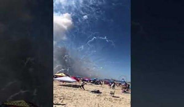 شاحنة مفرقعات تنفجـر على شاطئ بأمريكا - صحيفة هتون الدولية