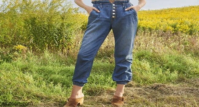 بناطيل جينز لطويلات القامة