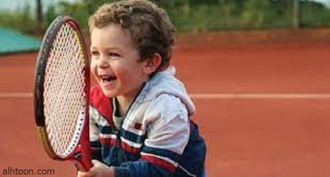 رياضة كرة التنس للاطفال -صحيفة هتون الدولية