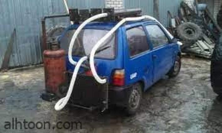 الخشب وقود للسيارات في أوكرانيا -صحيفة هتون الدولية