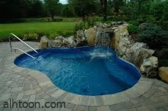 تصاميم حمامات السباحة المنزلية -صحيفة هتون الدولية