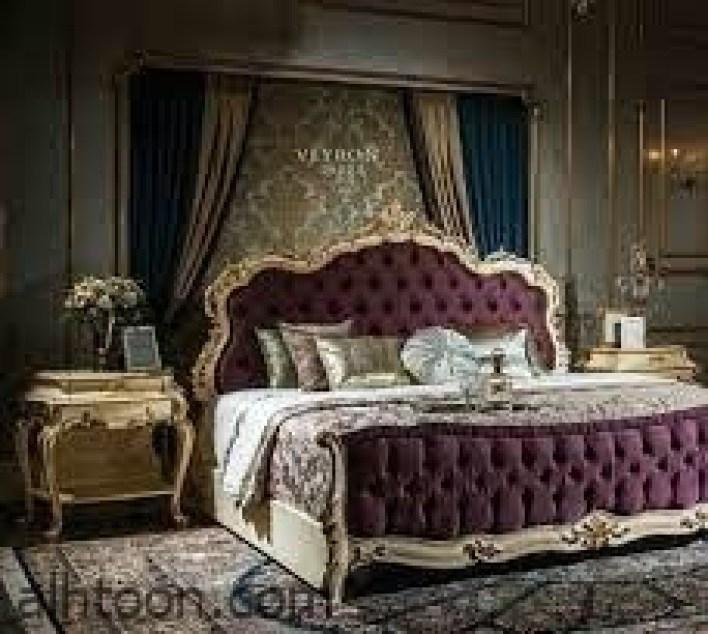أرقي تصاميم غرف النوم الكلاسيك -صحيفة هتون الدولية