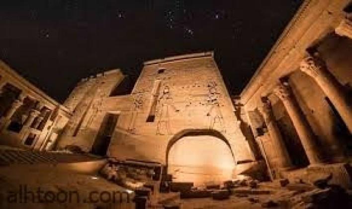 معبد «فيلة».. تاريخ على ضفاف النيل -صحيفة هتون الدولية-