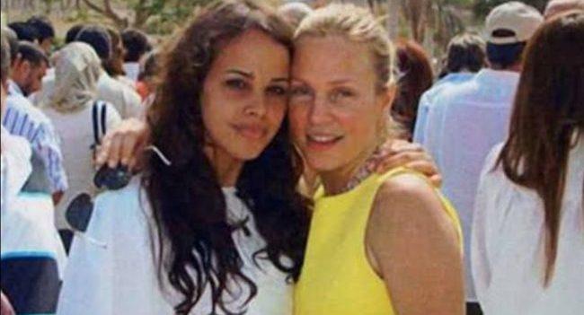 ابنة عمرو دياب لشيرين رضا: أنت أفضل قدوة - صحيفة هتون الدولية