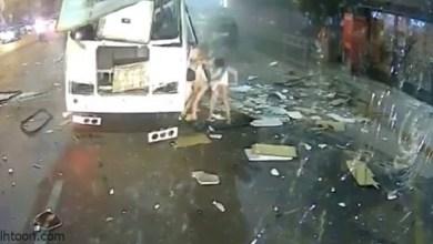 انفجار حافلة بمدينة روسية - صحيفة هتون الدولية