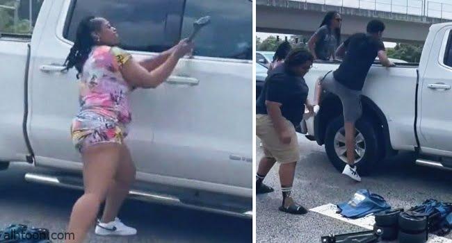 فيديو: سائق يفقد الوعي أثناء قيادته لشاحنة - صحيفة هتون الدولية