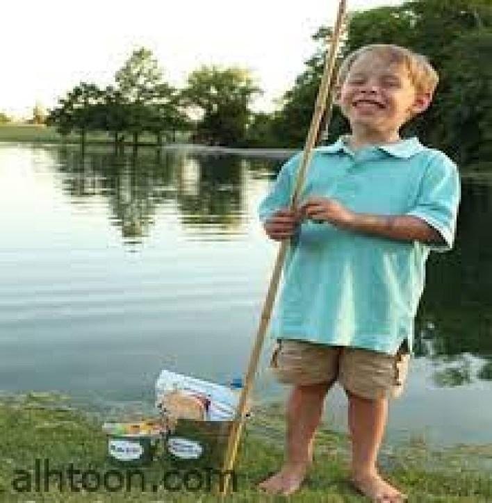 هواية صيد السمك بين الرياضة والمتعة للأطفال -صحيفة هتون الدولية-
