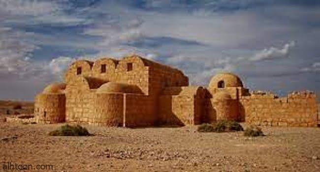 شاهد قصر عمرة التاريخي في الأردن -صحيفة هتون الدولية