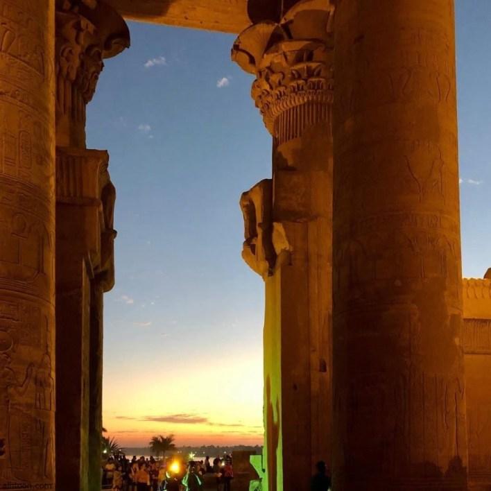 معبد كوم أمبو اهم المعابد الاثرية لحضارة مصر القديمة -صحيفة هتون الدولية-