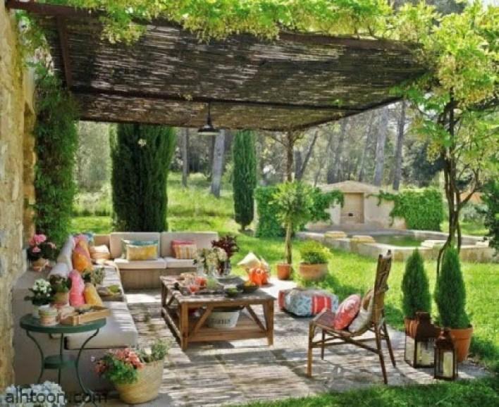 ديكورات حدائق رائعة على الطراز الفرنسي -صحيفة هتون الدولية