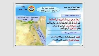 طقس اليوم في مصر - صحيفة هتون الدولية