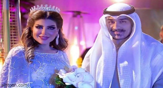 إلهام الفضالة توجه رسالة لزوجها شهاب جوهر - صحيفة هتون الدولية