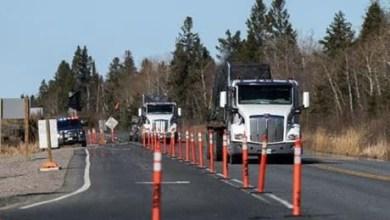 """شاهد: حادث مروع لـ""""شاحنة"""" - صحيفة هتون الدولية"""