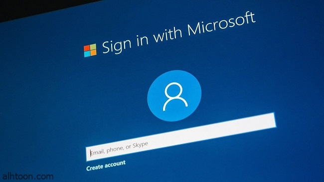 تسجيل الدخول بدون كلمة مرور في حساب مايكروسوفت