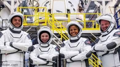4 سياح أمريكيون في رحلة حول مدار الأرض - صحيفة هتون الدولية