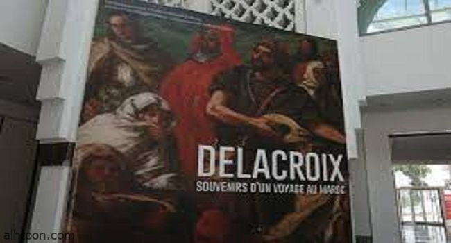 """طابعا بريديا بمناسبة معرض """" ديلا كروا"""" ذكريات رحلة الى المغرب -صحيفة هتون الدولية"""