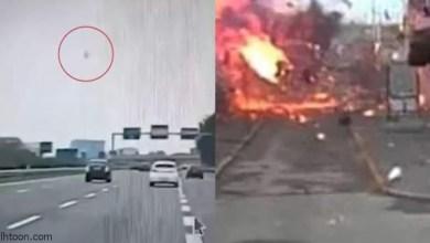 شاهد: سقوط طائرة على مبنى بميلانو - صحيفة هتون الدولية
