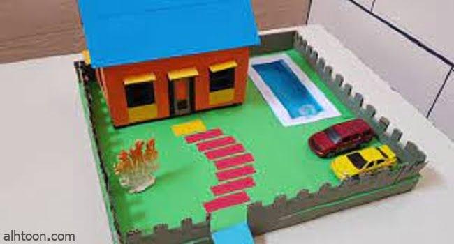 صنع منزل بالكرتون لأطفالك - صحيفة هتون الدولية