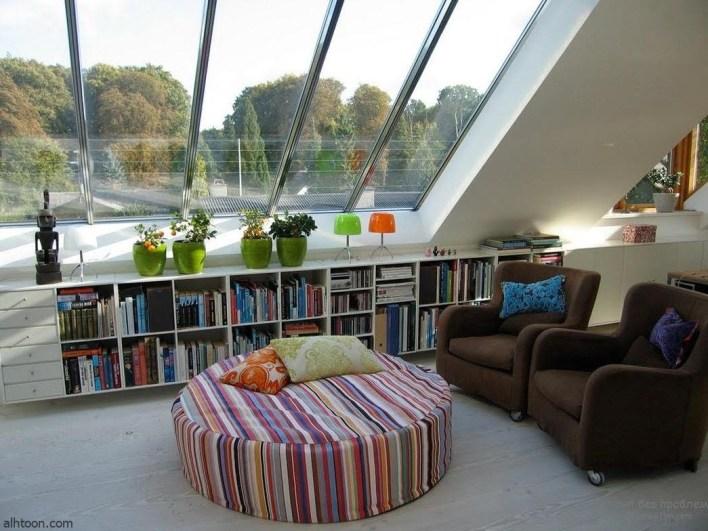 ديكور أسطح المنازل ذات المساحات الصغيرة -صحيفة هتون الدولية