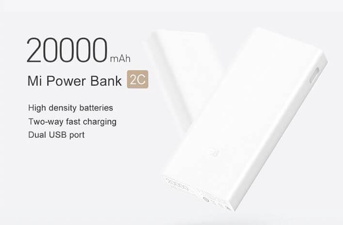Xiaomi Power Bank 2 בנפח 20,000mAh