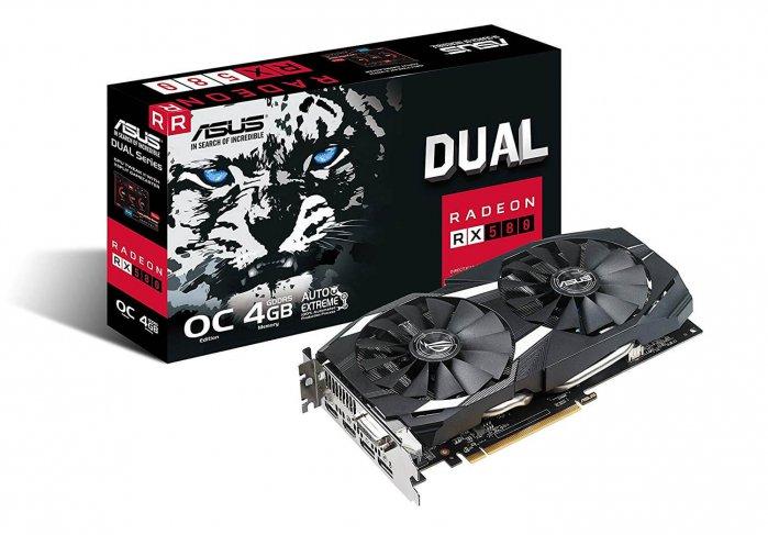 כרטיס מסך ASUS Radeon RX 580 דגם 4GB OC - אתר AliBuy