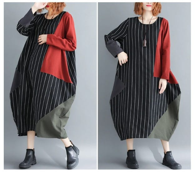 women-dress-plus-size