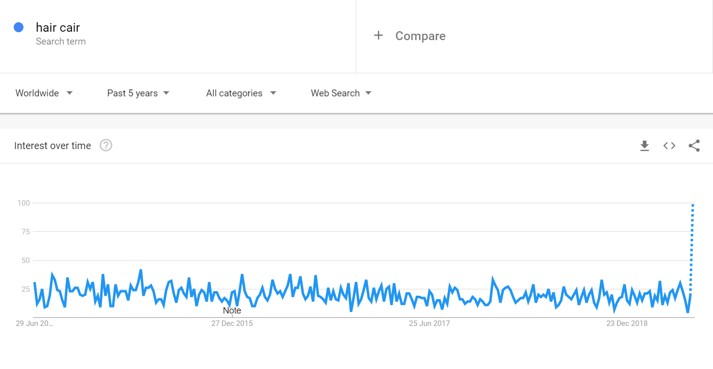 hair-cair-google-trend-report