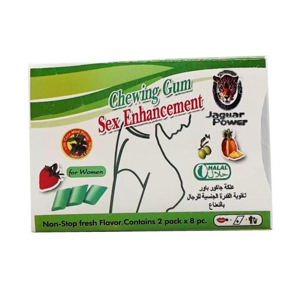 Chewing Gum Sex Enhancement For Women Green