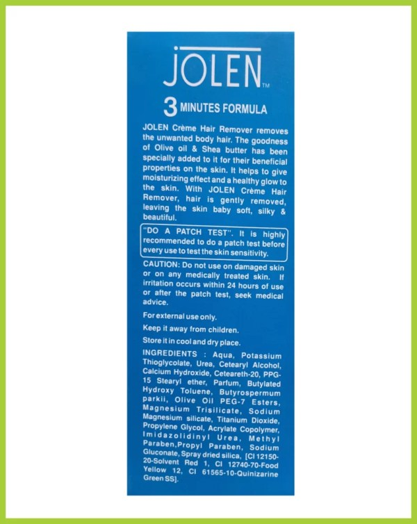 Jolen Hair Remover Cream For Dry Skin (INDIA) Original