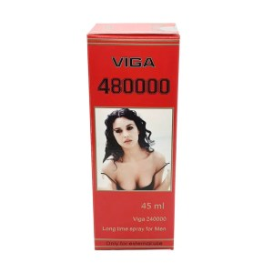 New Super Viga 480000 Delay Spray with Vitamin E 45ml