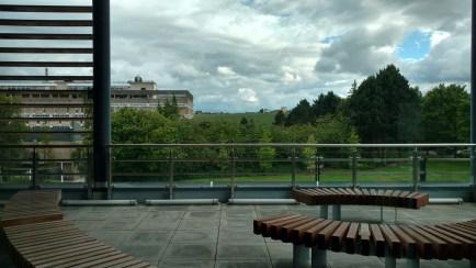 Pemandangan dari lantai dua
