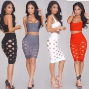 2015-new-ladies-gray-red-brown-white-nude-lilac-yellow-hollow-out-three-pieces-set-celebrity4