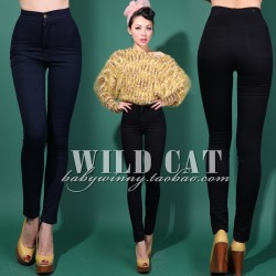 FREE-SHIPPING-Limited-edition-vintage-aa-high-waist-slim-hip-jeans-tight1