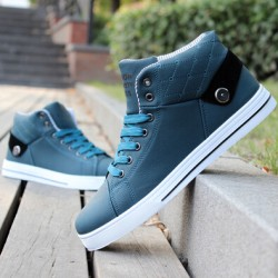 2015-New-Brand-Men-Shoes-Mens-Shoes-Fashion-Autumn-Spring-High-top-Casual-Shoes-White-Black-1
