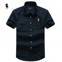 2015-summer-Brand-small-horse-Men-Shirt-Plus-Size-Slim-Fit-Business-Formal-Shirt-Short-Sleeve-1