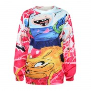 B5042-Alisister-Harajuku-Women-Adventure-Time-Sweatshirt-3D-Print-Cartoon-Biscuit-Men-Hoodies-Pullovers-Autumn-Winter-5