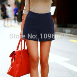 Fashion-Slim-High-Waist-Shorts-Women-Casual-Zipper-Fly-Flat-Lady-Short-Pants-S-M-L-1