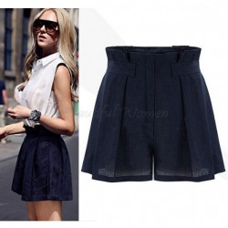 Free-shhipping-new-style-fashion-ladies-Europe-loose-waist-thin-wild-waist-casual-shorts-for-women-1