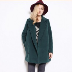 Free-shipping-2014-New-Fashion-Retro-double-breasted-cashmere-coat-and-long-sections-woolen-coat-women-1