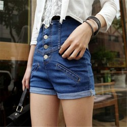 Hot-sale-2015-S-XL-hot-high-waist-stretch-denim-shorts-Slim-Korean-new-summer-fashion-1