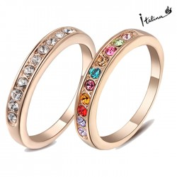 Italina-Rigant-Genuine-Austria-Crystal-Ring-jewelry-With-Austrian-Crystal-Stellux-18KGP-Rose-Gold-Plated-RG91645-1
