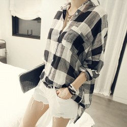 Plaid-Shirts-Women-Blouses-2015-Summer-New-Fashion-Blouse-Camisa-Feminina-Ropa-Mujer-Womens-Tops-Female-1