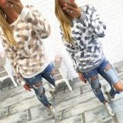 Winter-Fashion-Women-Fluffy-Fleece-Warm-Hoodie-Stone-Pattern-Sweatshirts-Long-Sleeve-Casual-Jumper-Lady-Crewneck-2