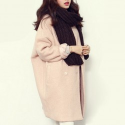 Winter-Fashion-Women-New-Coat-Long-sleeve-Medium-Long-High-quality-Wool-Coat-Loose-Super-Warm-1