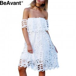 BeAvant-boho-off-shoulder-white-lace-women-summer-dress-2016-Sexy-high-waist-girl-party-dresses-1