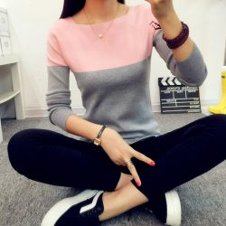 Newest-Women-s-Spring-Autumn-Knitted-Bottoming-Sweater-Women-Split-Fashion-Sweaters-And-Pullovers-Female-Pull-1