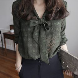 Spring-Women-Blouses-2016-New-Arrivals-Casual-V-Neck-Women-Blouses-And-Shirts-Lacing-Single-Breasted-1