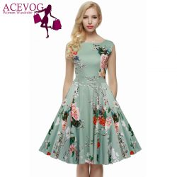 ACEVOG-Brand-S-4XL-Women-Dress-Retro-Vintage-1950s-60s-Rockabilly-Floral-Swing-Summer-Dresses-Elegant-1
